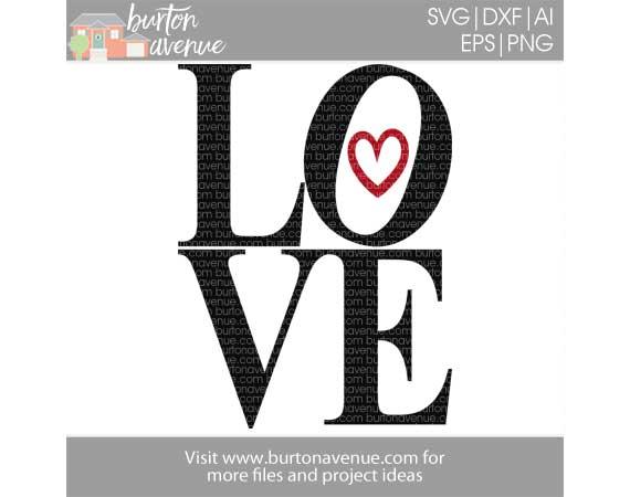 Download Love Cut File - Burton Avenue