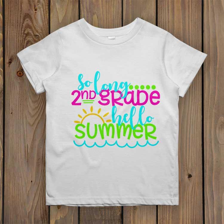 So Long 2nd Grade – Hello Summer
