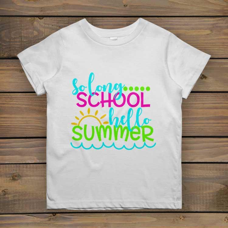 So Long School – Hello Summer