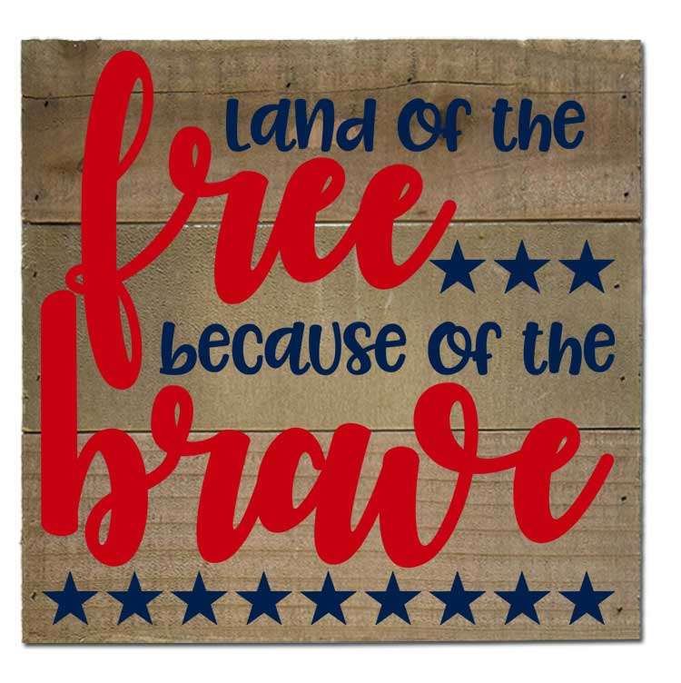 Land of the Free – Home of the Brave