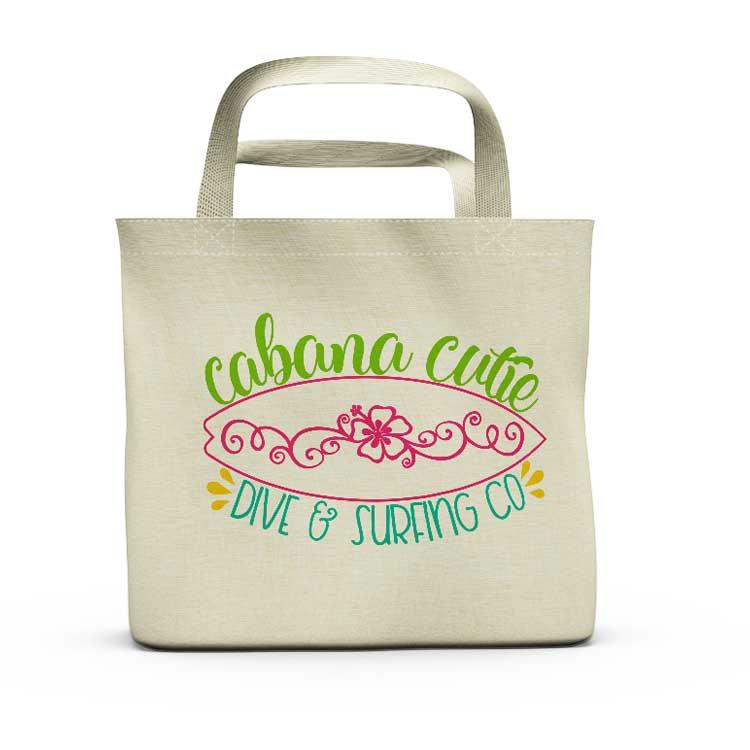 Cabana Cutie – Dive & Surf Co