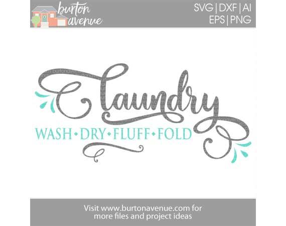 Laundry-Wash, Dry, Fluff, Fold w/Flourish