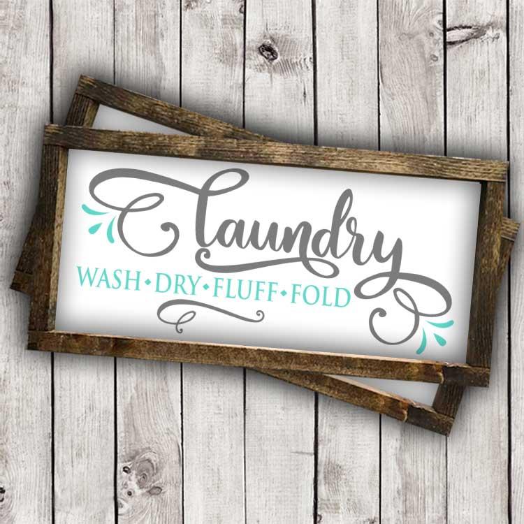 Laundry-Wash, Dry, Fluff, Fold