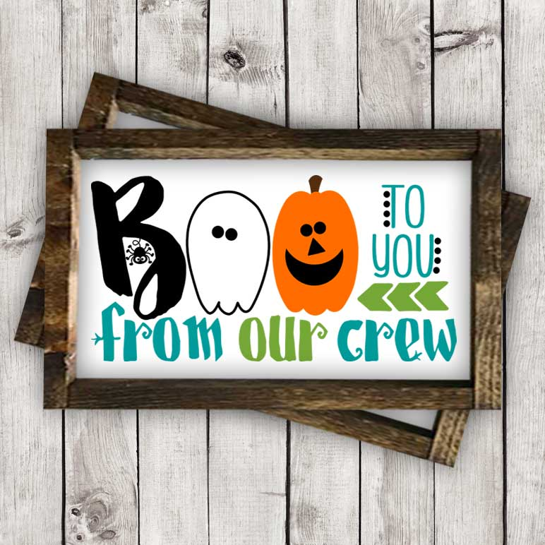 Boo to You-From our Crew