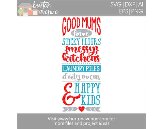 Good Mums Have Happy Kids
