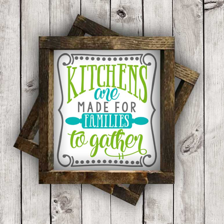 Kitchens are Made for Families to Gather