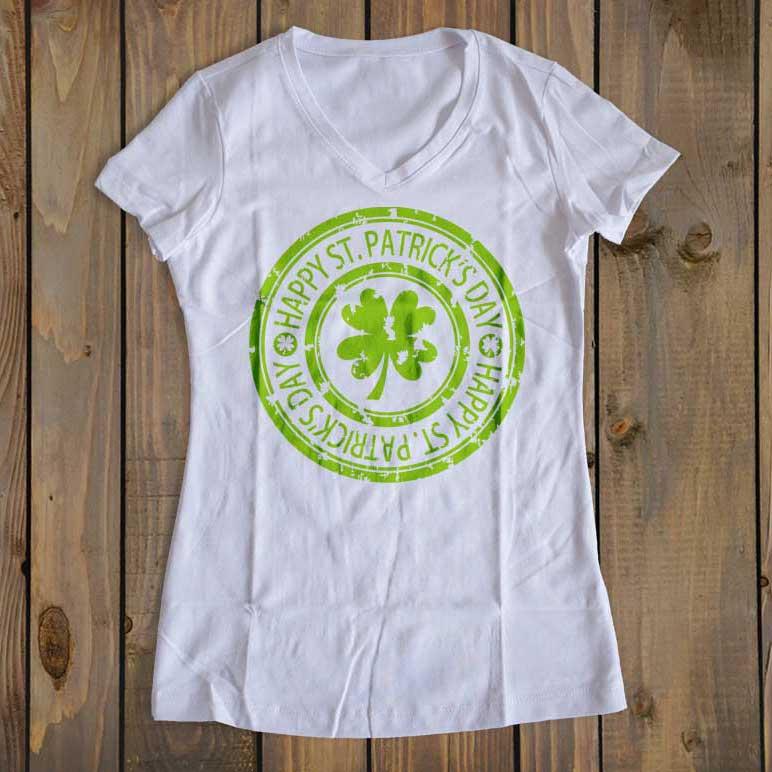 grunge_shamrock_stamp_shirt