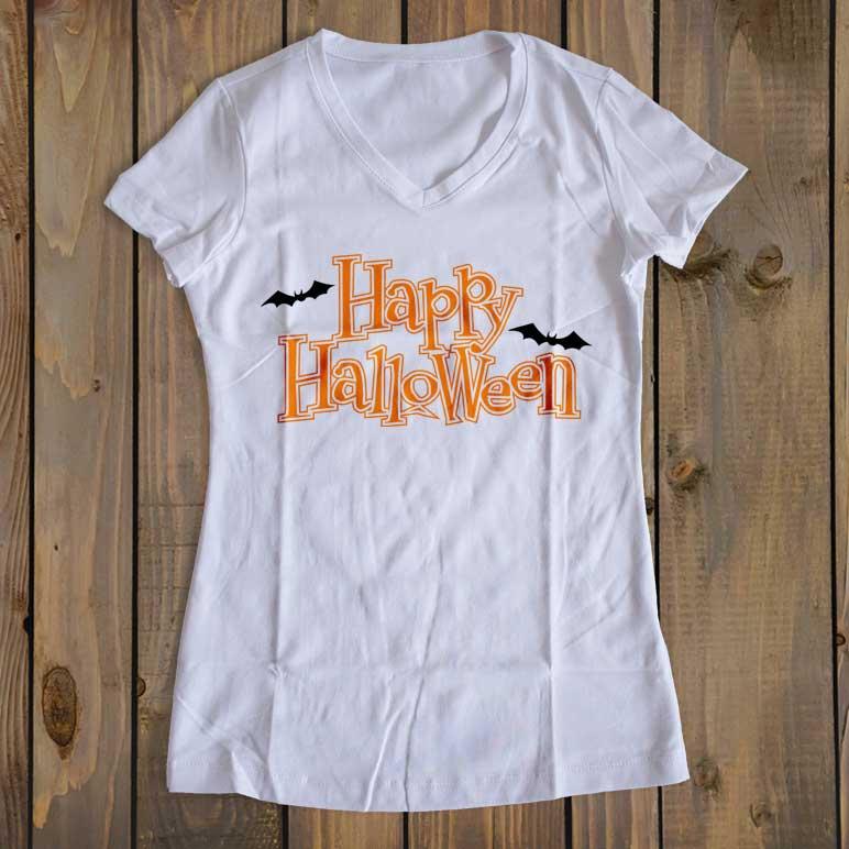 Happy Halloween w/Bats