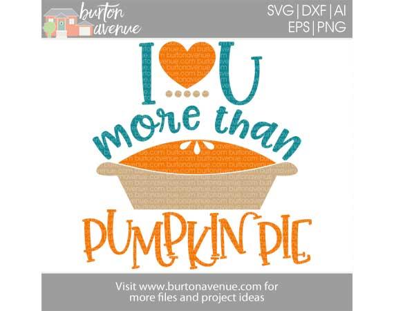 I Love You More than Pumpkin Pie