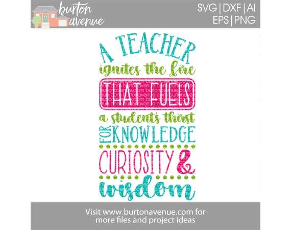 A Teacher Ignites the Fire