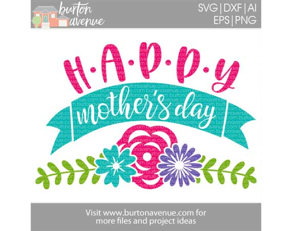 Happy Mother's Day w/Flowers