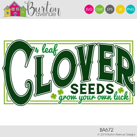 4 Leaf Clover Seeds