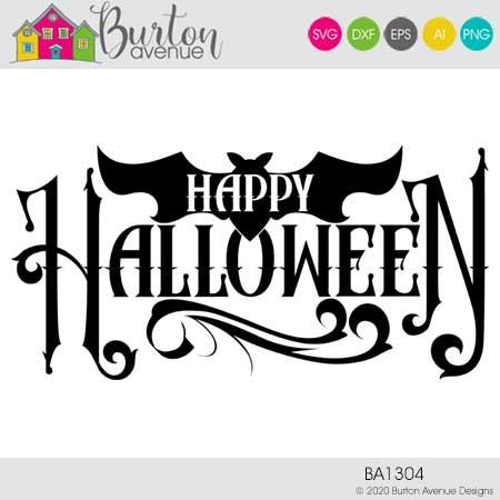 Happy Halloween with Bat