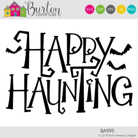 Happy Haunting w/Bats
