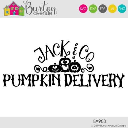 Jack & Co Pumpkin Delivery