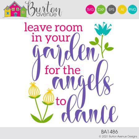 Leave Room in your Garden