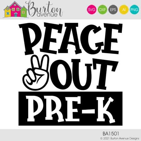 Peace Out Pre-K