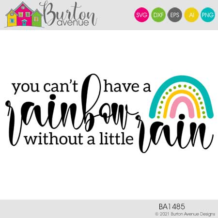 You Can't Have a Rainbow