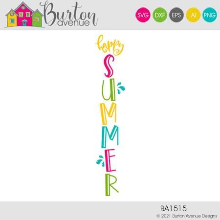 Happy Summer Vertical