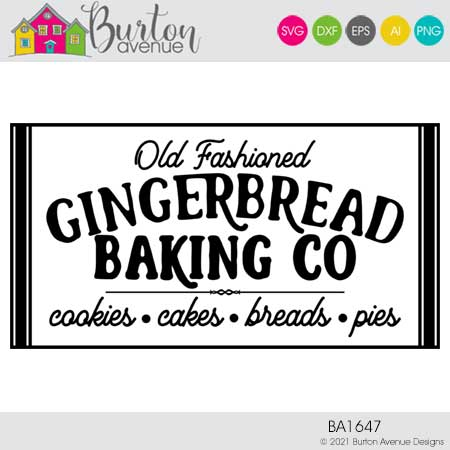 Old Fashioned Gingerbread Baking Co
