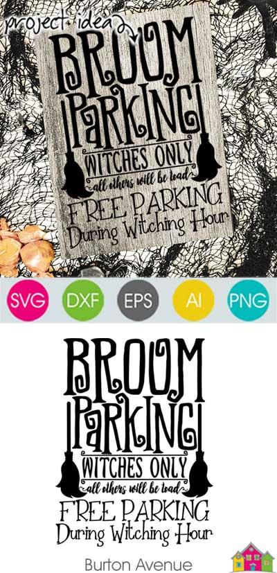 Broom-Parking-Pin